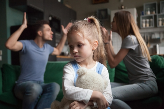 impact of divorce on young children