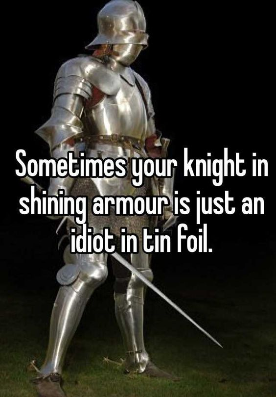 idiot knights-armour