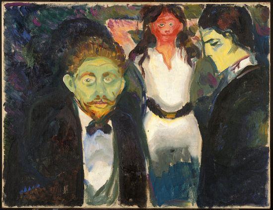 Edvard Munch Jealousy 1