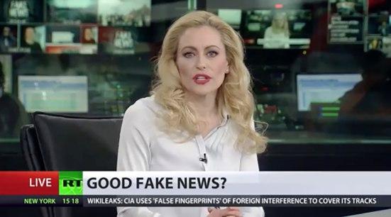 RT good fake news