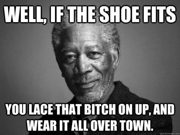 Freeman - If the shoe fits