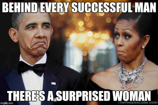 successful Obama surprised Michelle