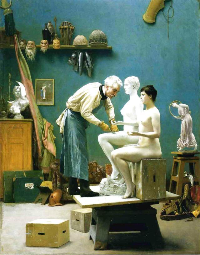 Sculptor Jean Leon Gerome