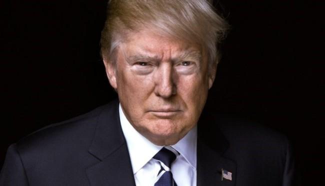 Trump gaze