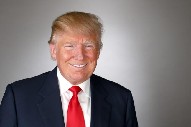 Trump happy
