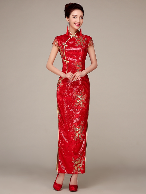 MLZS-16228A-Sequins-fabric-traditional-red-Chinese-wedding-qipao-001