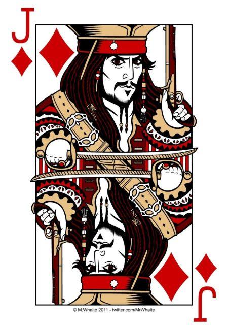 Jack Sparrow Diamond Card