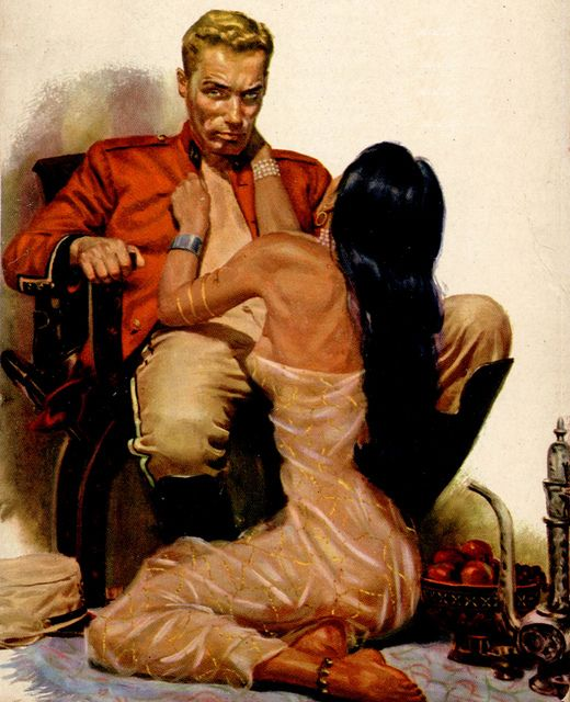 George Gross-vintage-romance-pulp-art