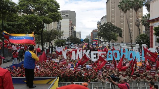 Venezuela yankee go home