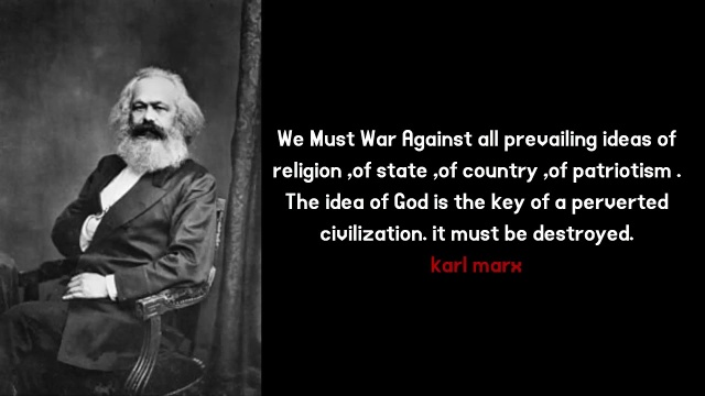 marx destroy god