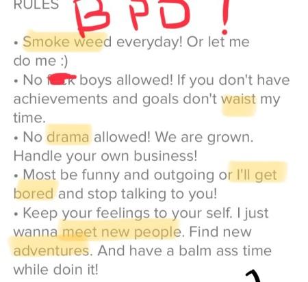 Tinder profiles 4
