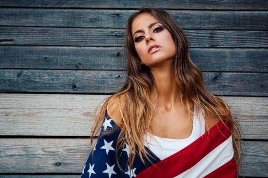 america woman