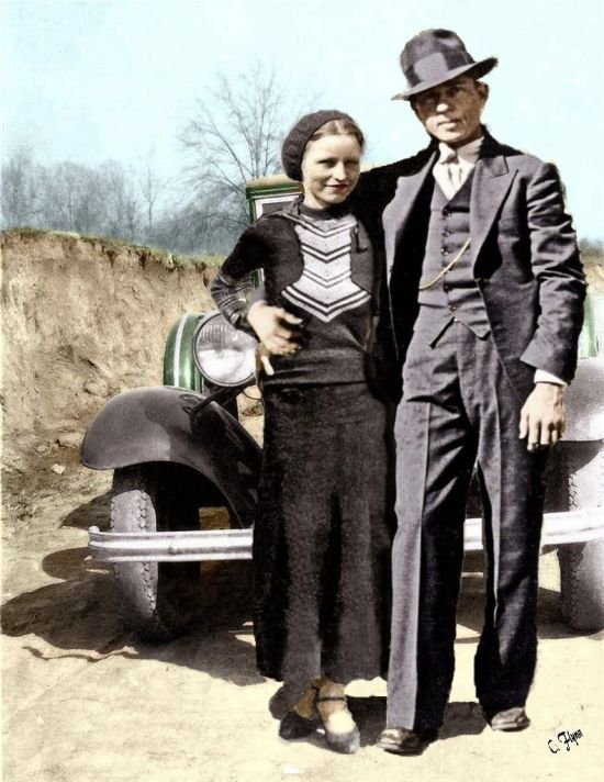 Bonnie and Clyde Barrow