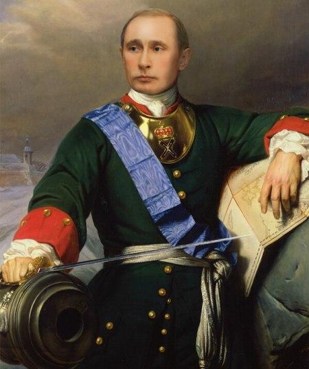 Peter-The-Great-Vladimir-Putin