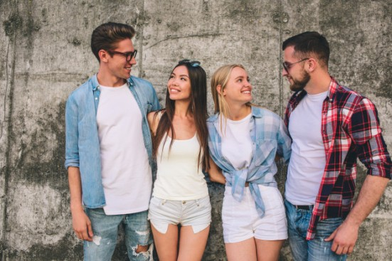 nice-young-people-are-standing-together