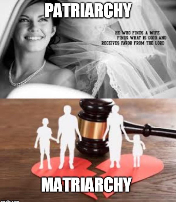 patriarchy vs matriarchy