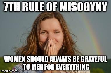 women should always be grateful
