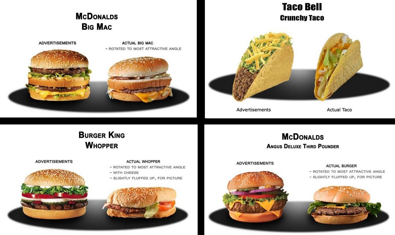Behind the scenes: Fast food adverisements